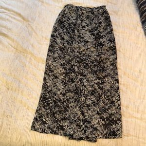 Sheer Maxi Skirt with Mini underneath